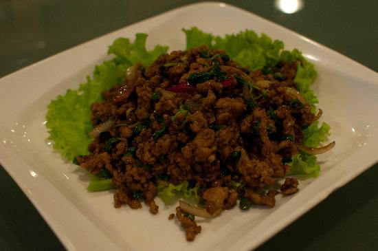 Suan Thai : Chicken with Basil