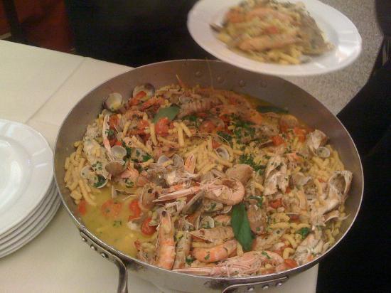 Il Castagno : spaghetti del pescatore