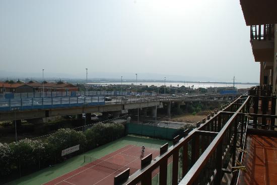 Hotel Ulivi e Palme: desde la terraza