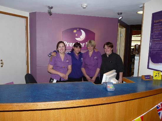 Premier Inn York South West Hotel: Reception