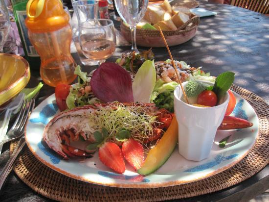 Capao Beach: Heerlijke lunch bij Capao
