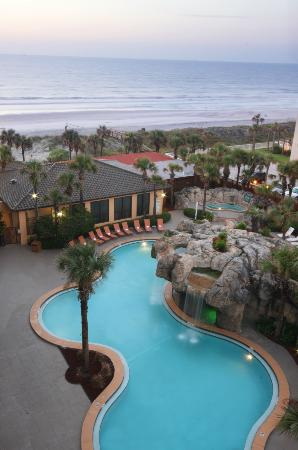 Hampton Inn Jacksonville Beach Oceanfront Fl 2018 Hotel Review Family Vacation Critic