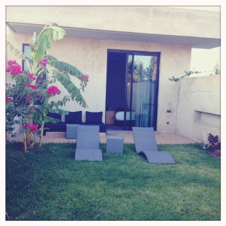 Sirayane Boutique Hotel & Spa : jardin chambre