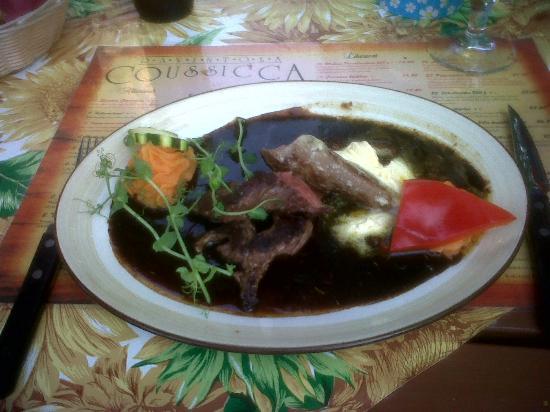 Ravintola Coussicca: piatto tipico