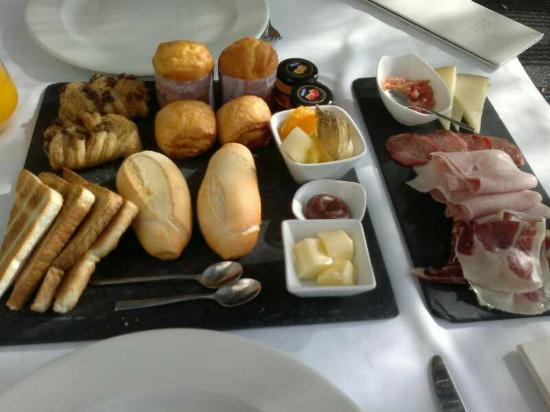 Villa Venecia Hotel Boutique: Desayuno... espectacular