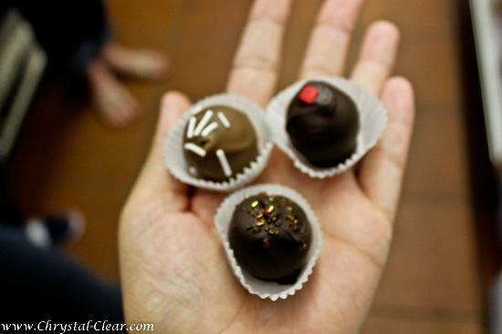 Tasty Tours: chocolate truffles at Chocolate Addict