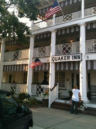 Front of the Quaker Inn