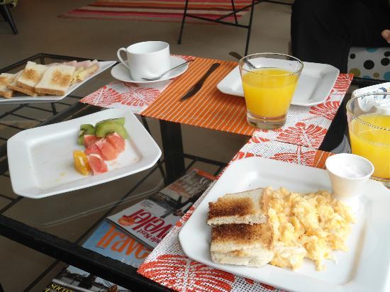 La Viuda de Jose Ignacio: Desayuno exquisito