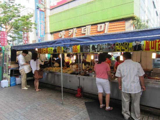 BIFF Square: food stall