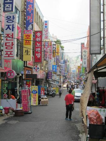 BIFF Square: shops