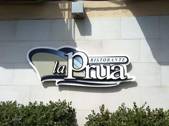 Capo Mulini, Италия: ristorante La Prua