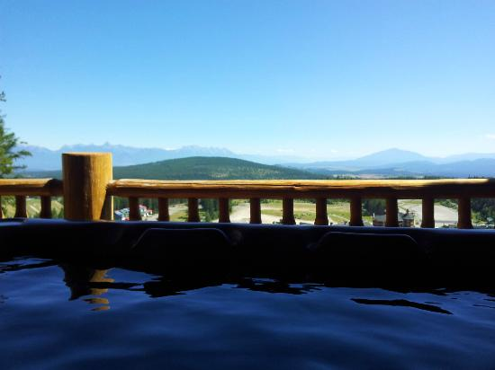 Northstar Mountain Village Resort: Hot tub view