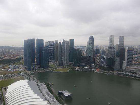Marina Bay: Bay Marina skyline (including MBFC)
