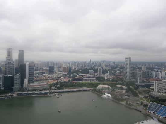 Marina Bay: Singapore from top