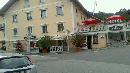 Restaurant Hotel Gross: wir haben dort letzte Woche dort urlaub gemacht