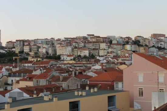Hotel Oslo Coimbra : View from rooftop bar at hotel
