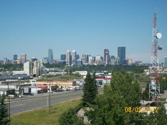 Hotel Blackfoot: City view from our room