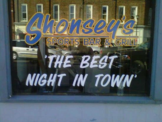 Shonsey's Sports Bar and Grill: The newest place to be in Picton!