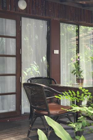 Samui Paradise Chaweng Beach Resort: Porch, Grand Villa