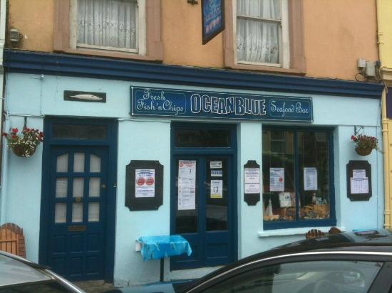 Oceanblue Seafood Bar: So many regrets to have opened the door !