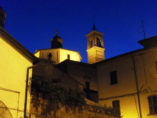 Agriturismo Campara: Soirée à Citta di Castello