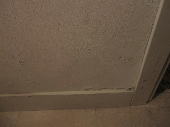 Hotel Novecento: Damp walls - room 107