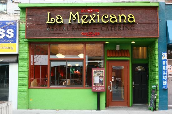 La Mexicana Restaurant: Yonge & Bloor location