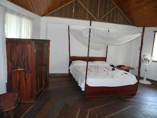 Playa La Roca Ecohotel : Habitación super confortable y limpia