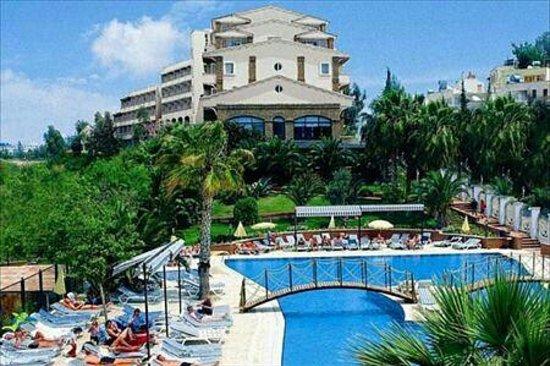 Thalia Beach Resort view