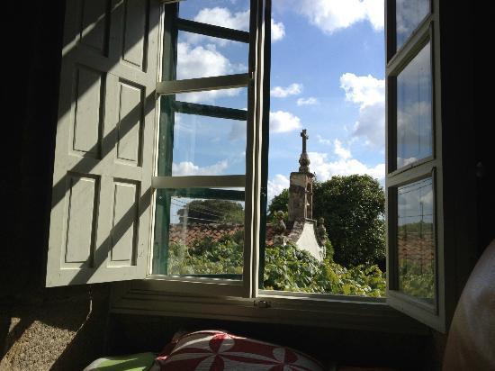 Pazo Cibran: una bonita vista desde la suite