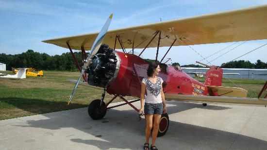 Hampton Airfield: Happy, Happy Biplane Thrill Ride