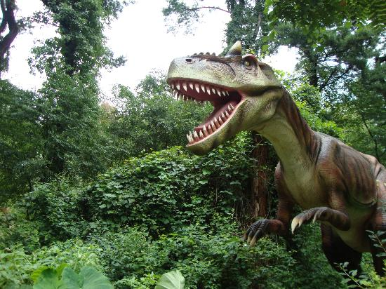 Dorney Park & Wildwater Kingdom: The Dinasaur Exhibit
