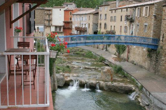 L'Hostellerie de Rennes-les-Bains : Vue du balcon