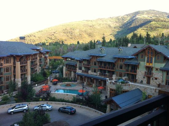 Hyatt Centric Park City : View from the 5th floor loft suite in Wasatch building