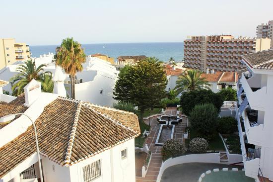 Hotel Betania: Вид с балкона