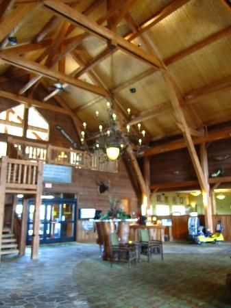 Hope Lake Lodge & Conference Center: inside the lodge
