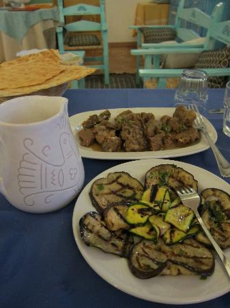 """Agriturismo La Genziana: the lamb dish was so good and tender without any """"lamby"""" taste."""
