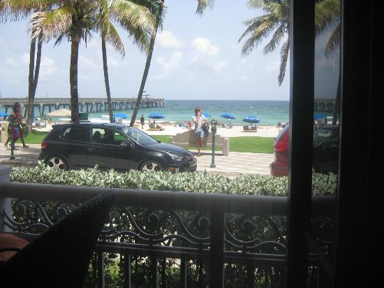 Superior Wyndham Deerfield Beach Resort: From The Patio Bar And Grill