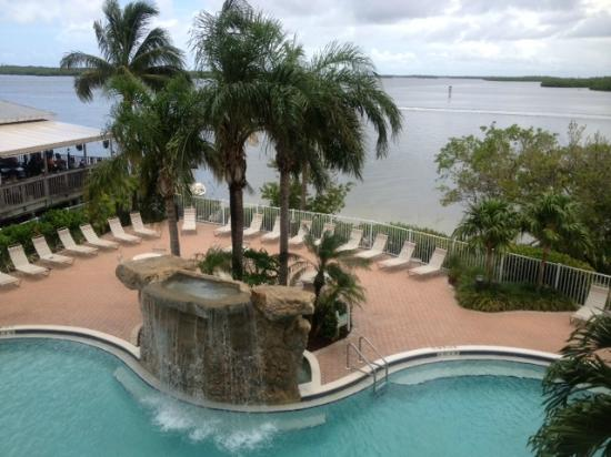 Lovers Key Resort: View from Room 205
