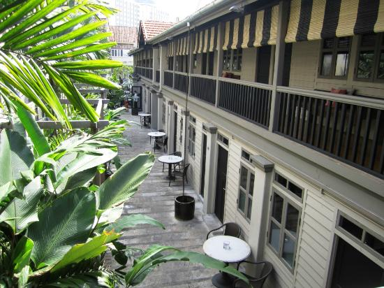 Muntri Mews: view from our room
