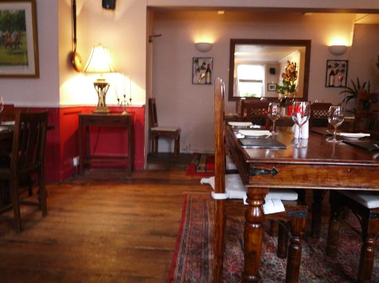 The Crown Inn: The dining room at the Crown
