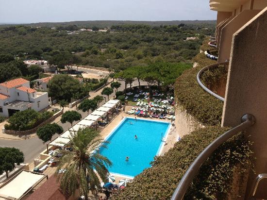 S'Algar, Spain: View from balcony top 6th floor