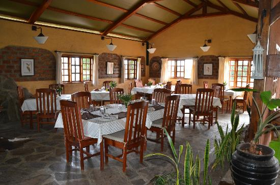 Mara West Camp: dining area