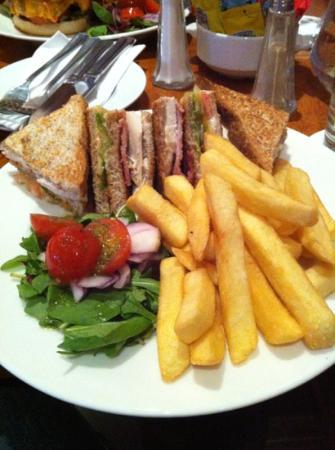 Ardmore Hotel: the classic club sandwich