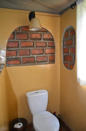 Mara West Camp: The Brick bathroom