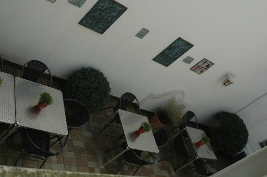 Brandenburger Hof: Little courtyard