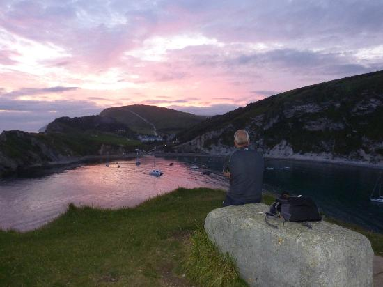 Bindon Bottom B&B: An evening at Lulworth Cove