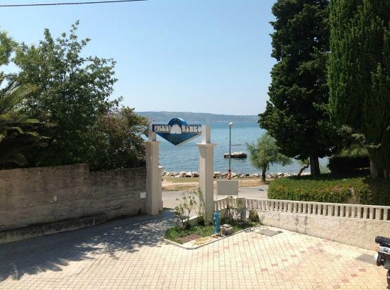Hotel Villa Zarko : view from balcony of restaurant
