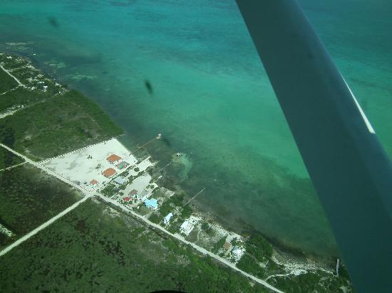 Banyan Bay Suites: veiw from plane leaving the island