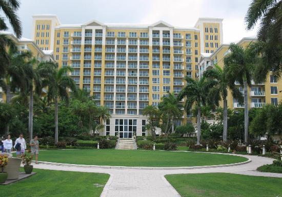 Ritz-Carlton Spa, Key Biscayne: facing the ocean